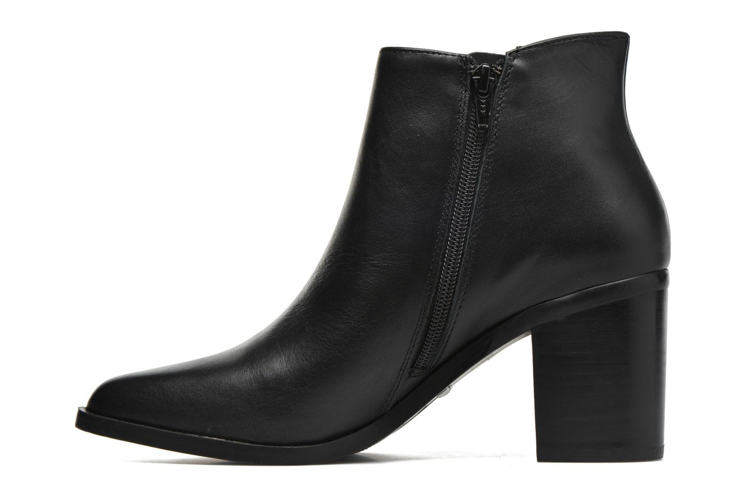 Bottines et boots Buffalo Tida Noir vue face