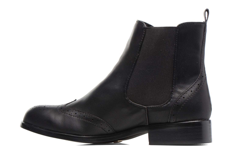 Bottines et boots Buffalo Elb Noir vue face
