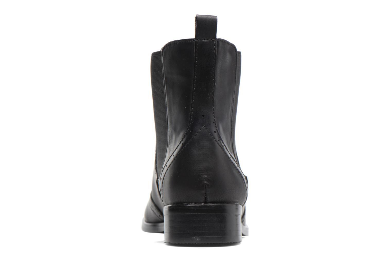 Bottines et boots Buffalo Elb Noir vue droite