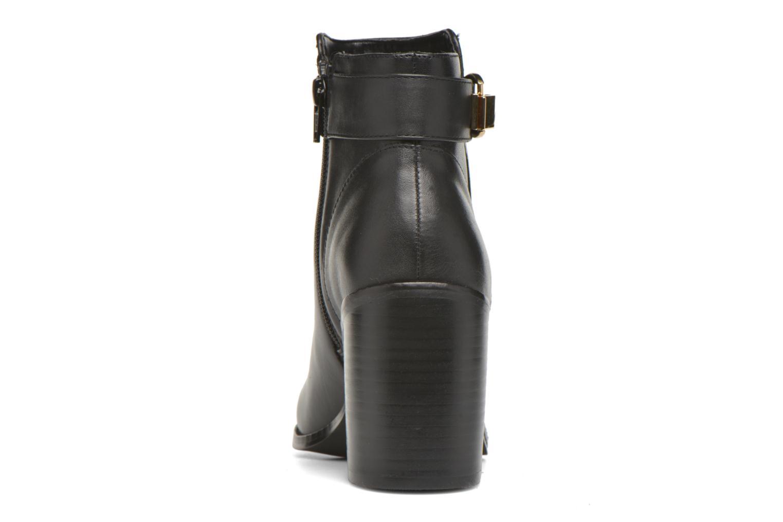 Bottines et boots Buffalo Sama Noir vue droite