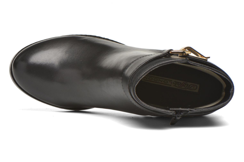 Bottines et boots Buffalo Sama Noir vue gauche