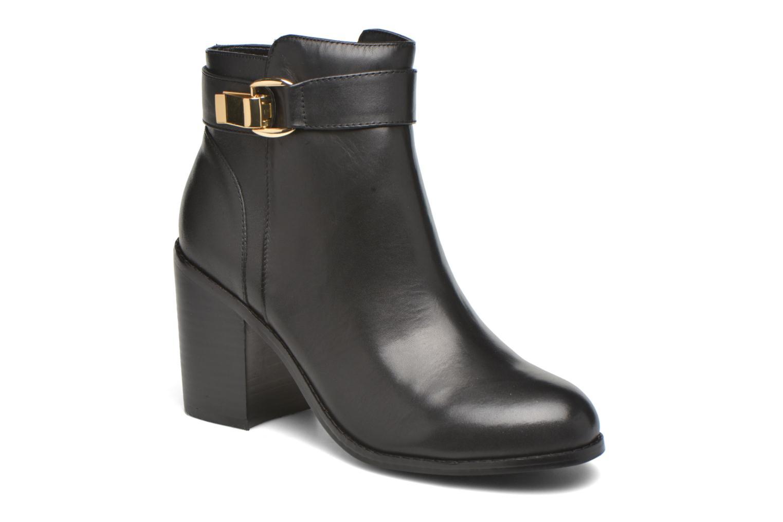 Bottines et boots Buffalo Sama Noir vue détail/paire