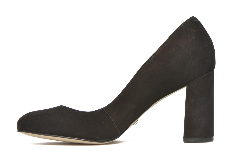 High heels Buffalo Qilda Black front view