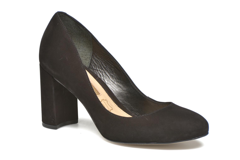 High heels Buffalo Qilda Black detailed view/ Pair view