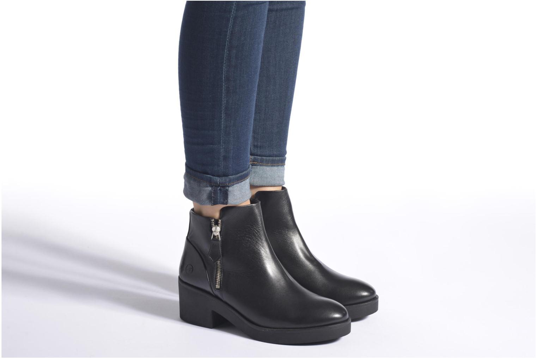 Bottines et boots Bronx Law Noir vue bas / vue portée sac