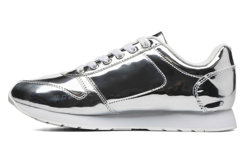 Sneaker Blink Brebeckal silber ansicht von vorne