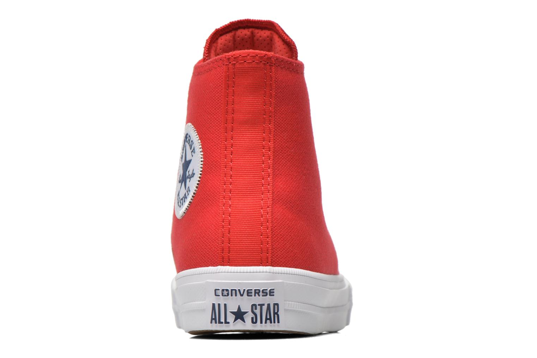 Deportivas Converse Chuck Taylor All Star II Hi Rojo vista lateral derecha