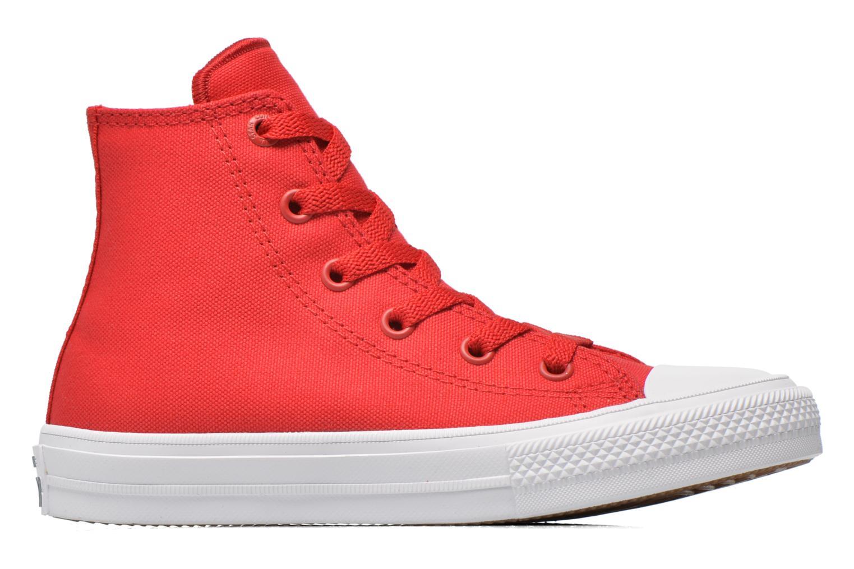 Sneakers Converse Chuck Taylor All Star II Hi Rosso immagine posteriore