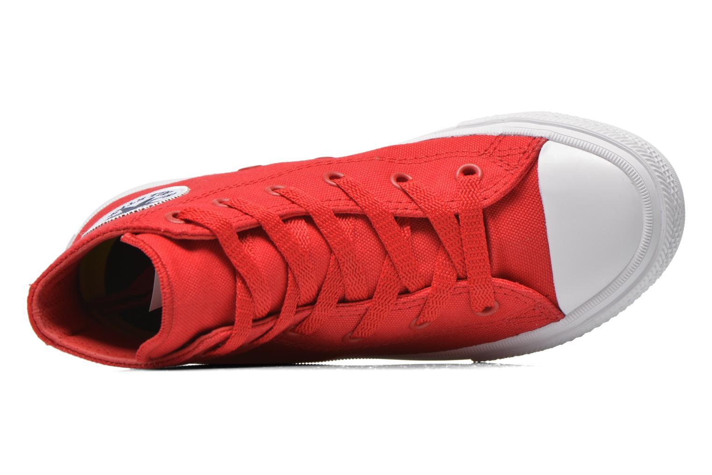 Sneaker Converse Chuck Taylor All Star II Hi rot ansicht von links