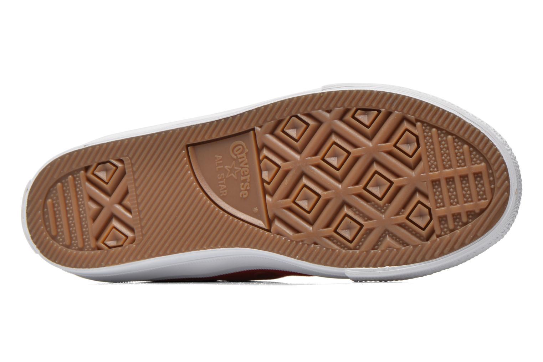 Sneakers Converse Chuck Taylor All Star II Hi Rosso immagine dall'alto