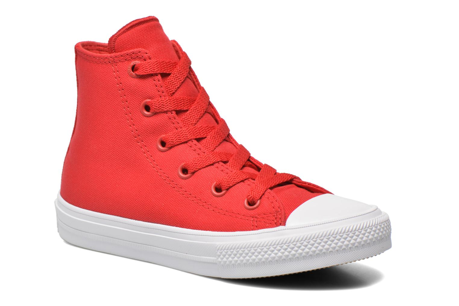 Trainers Converse Chuck Taylor All Star II Hi Red detailed view/ Pair view