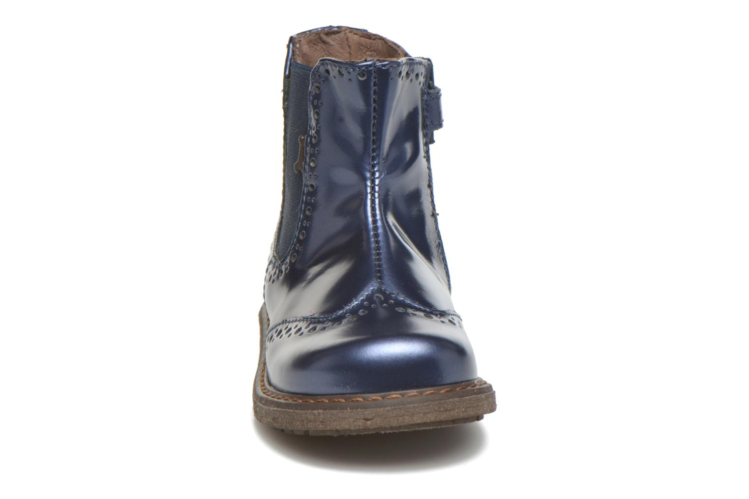 Ankle boots Stones and Bones Ople Blue model view