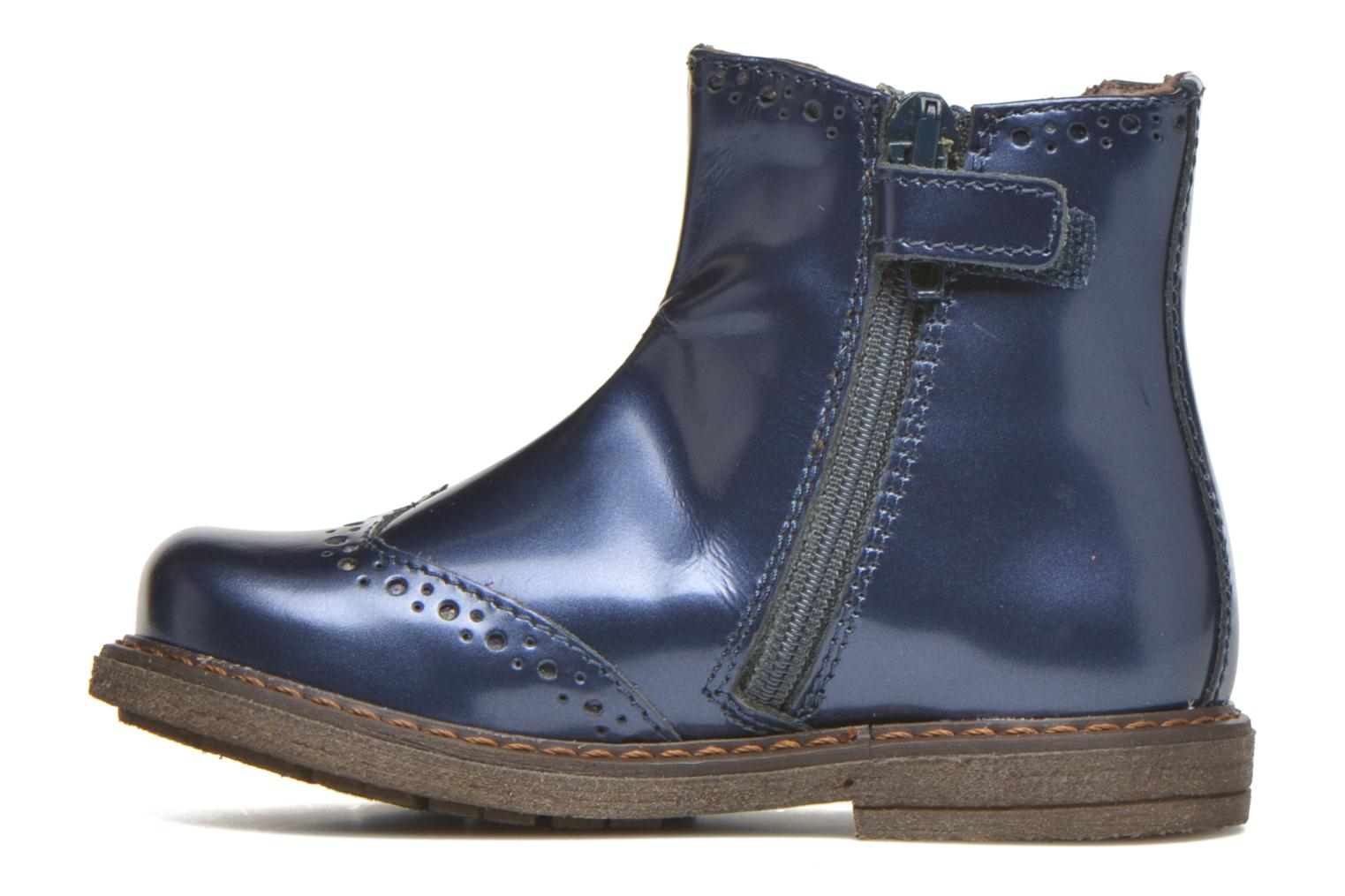 Ankle boots Stones and Bones Ople Blue front view