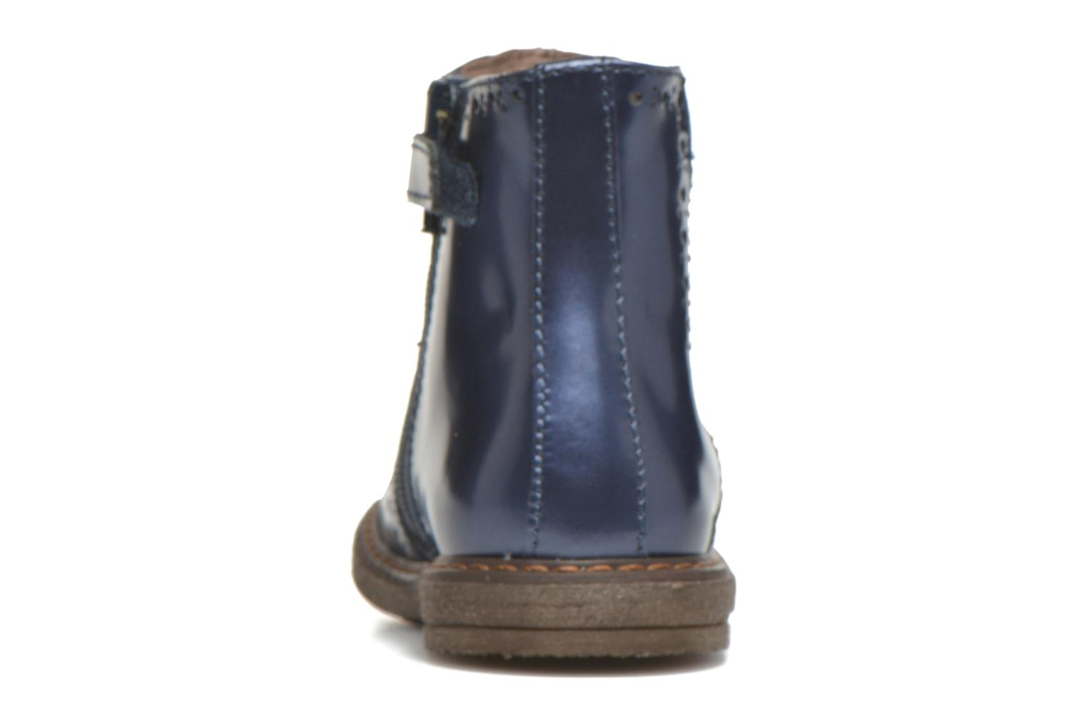 Ankle boots Stones and Bones Ople Blue view from the right