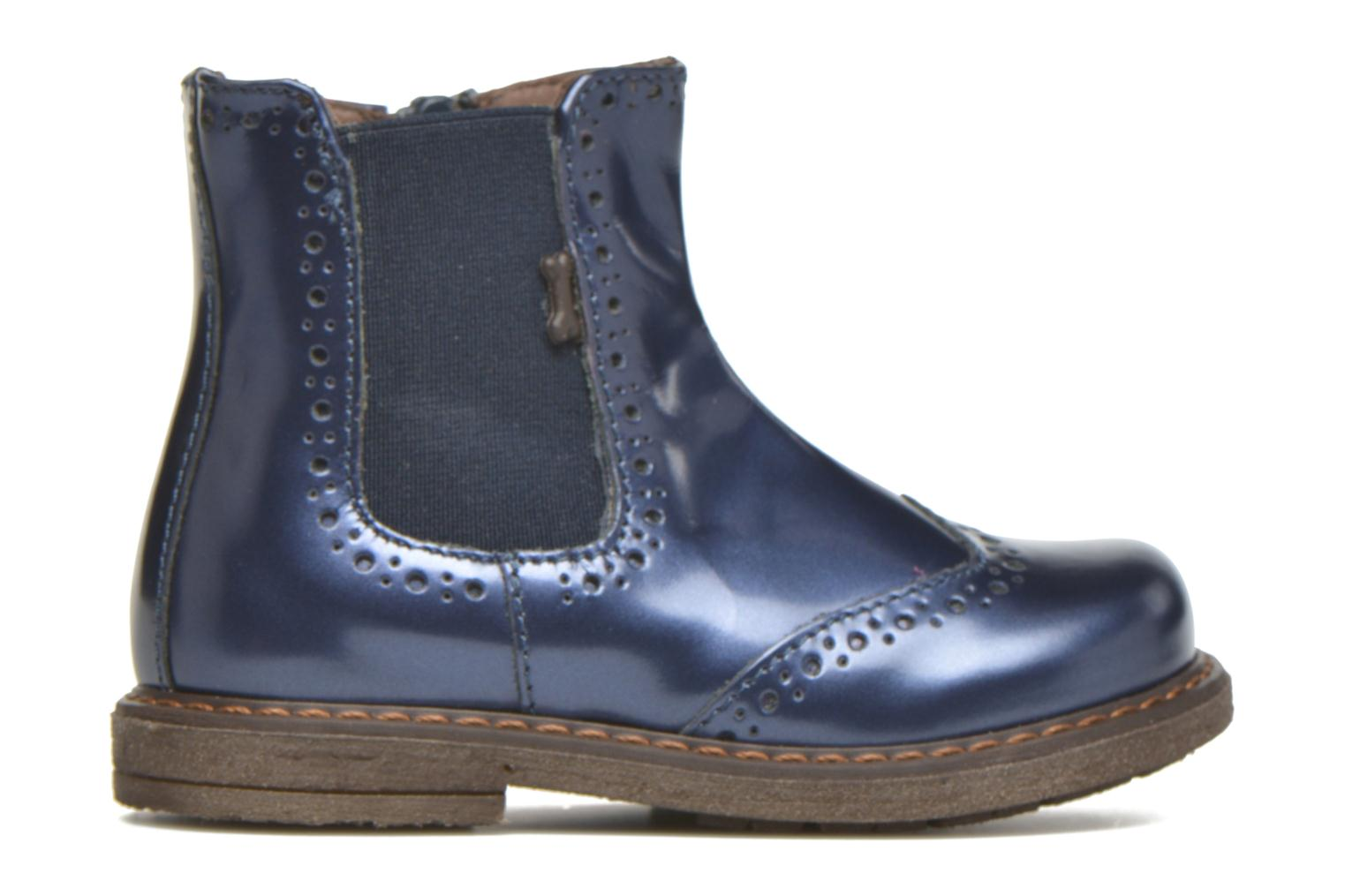 Ankle boots Stones and Bones Ople Blue back view