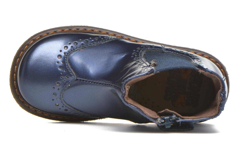 Ople Calf Metal Bluette