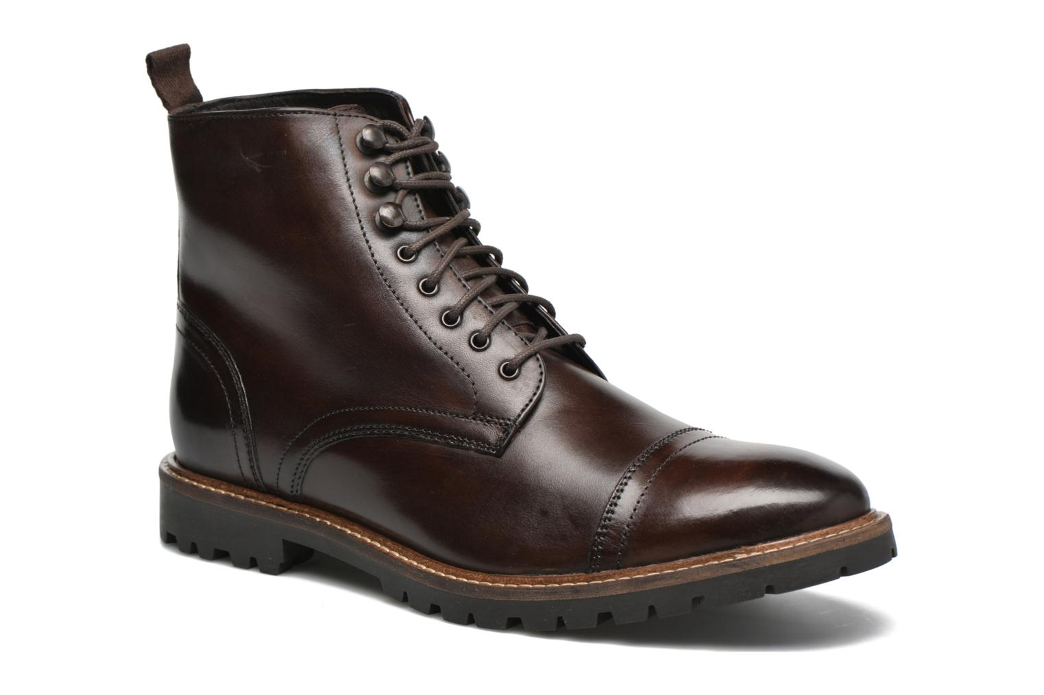 Bottines et boots Base London Siege Marron vue détail/paire