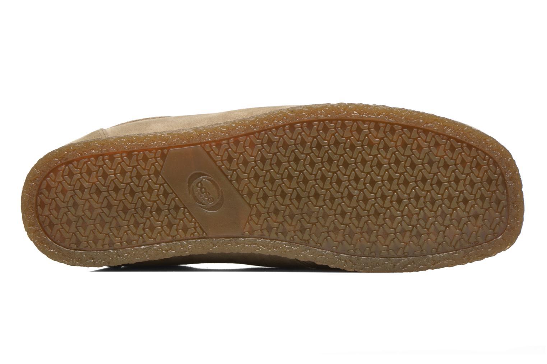 Zapatos con cordones Base London Genesis Beige vista de arriba