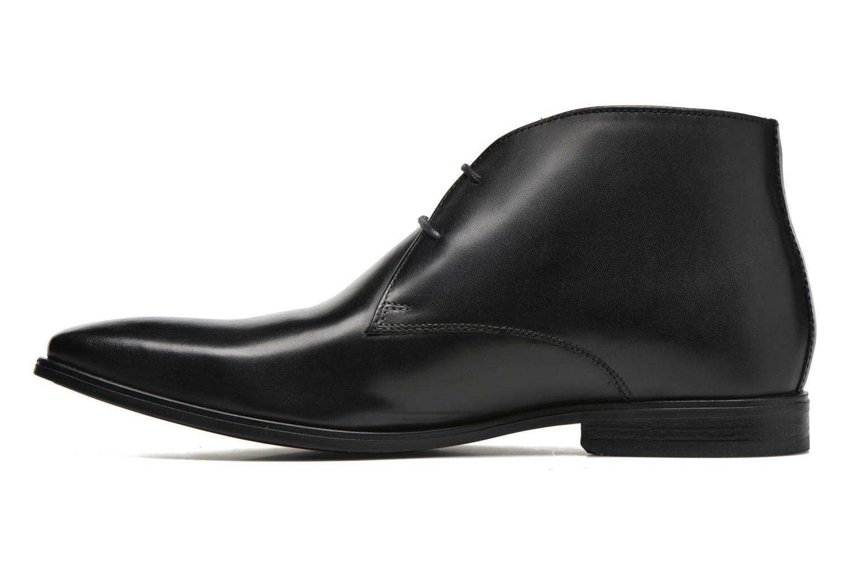 Chaussures à lacets Base London Henry Noir vue face
