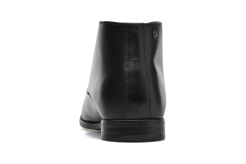 Chaussures à lacets Base London Henry Noir vue droite