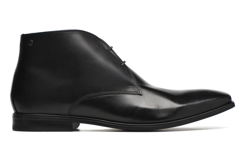 Chaussures à lacets Base London Henry Noir vue derrière