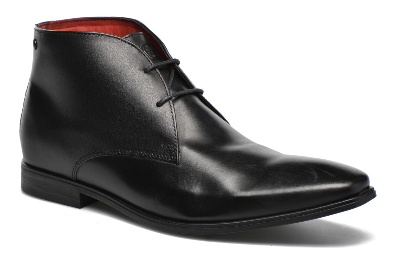 Chaussures à lacets Base London Henry Noir vue détail/paire