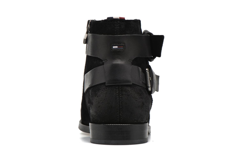Stiefeletten & Boots Tommy Hilfiger GENNY 10C schwarz ansicht von rechts