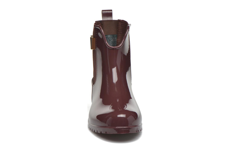 Bottines et boots Tommy Hilfiger OXLEY 7R Bordeaux vue portées chaussures