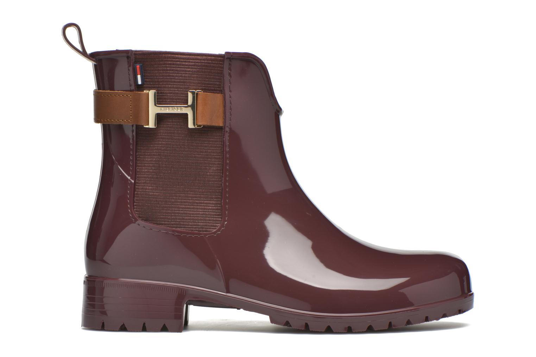 Stiefeletten & Boots Tommy Hilfiger OXLEY 7R weinrot ansicht von hinten