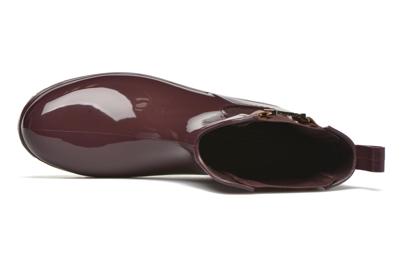 Bottines et boots Tommy Hilfiger OXLEY 7R Bordeaux vue gauche
