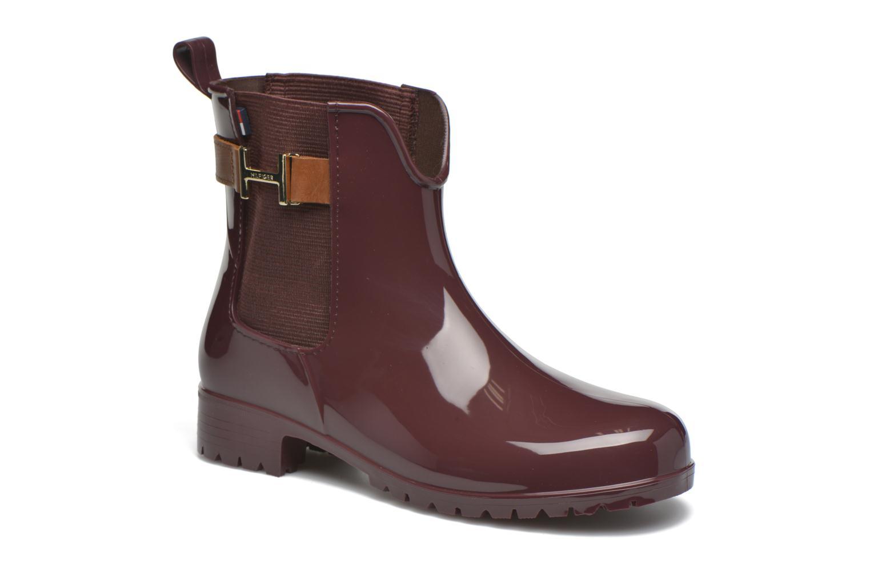 Bottines et boots Tommy Hilfiger OXLEY 7R Bordeaux vue détail/paire