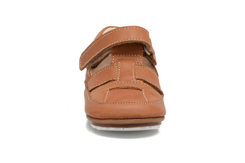 Chaussures à scratch Shoesme Baby-Proof smart 2 Marron vue portées chaussures