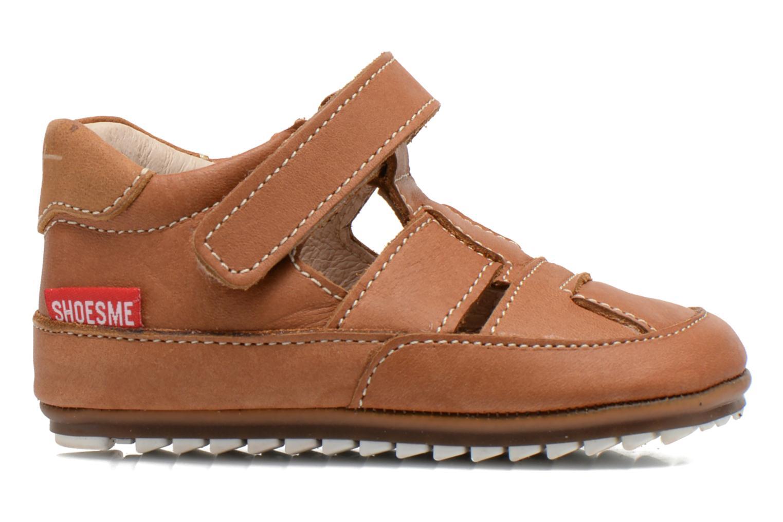 Chaussures à scratch Shoesme Baby-Proof smart 2 Marron vue derrière