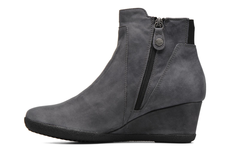 Bottines et boots Geox D AMELIA ST B D6479B Gris vue face