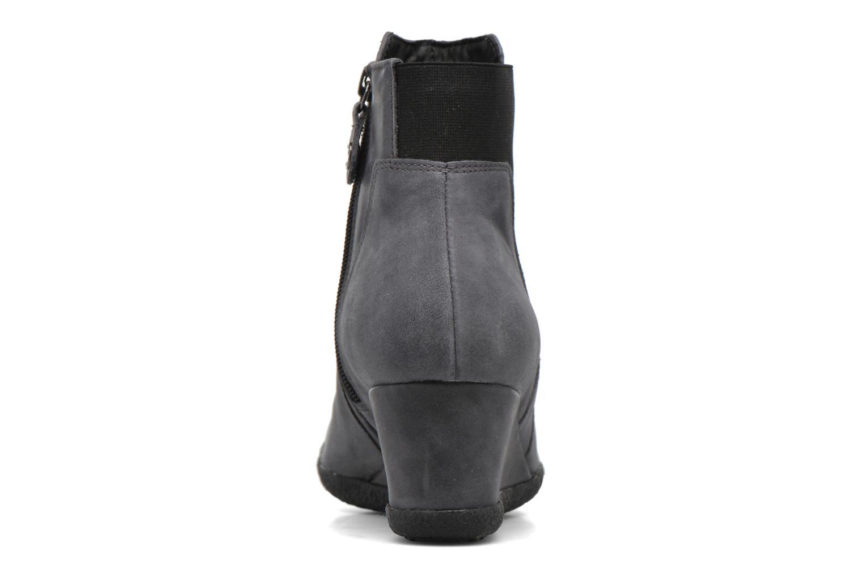 Bottines et boots Geox D AMELIA ST B D6479B Gris vue droite