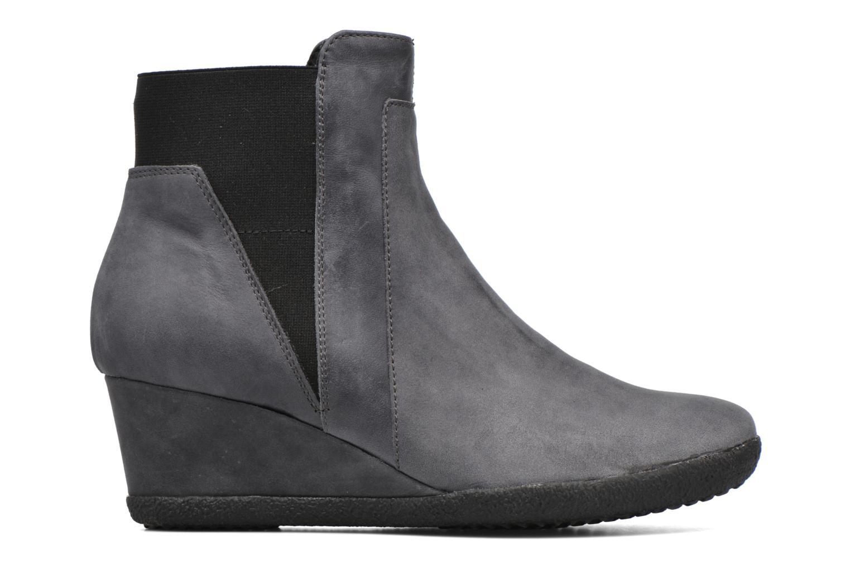 Stiefeletten & Boots Geox D AMELIA ST B D6479B grau ansicht von hinten