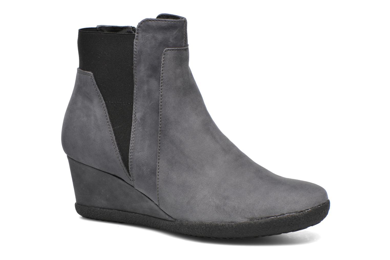 Bottines et boots Geox D AMELIA ST B D6479B Gris vue détail/paire
