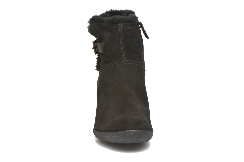 Bottines et boots Geox D AMELIA ST D D6479D Noir vue portées chaussures