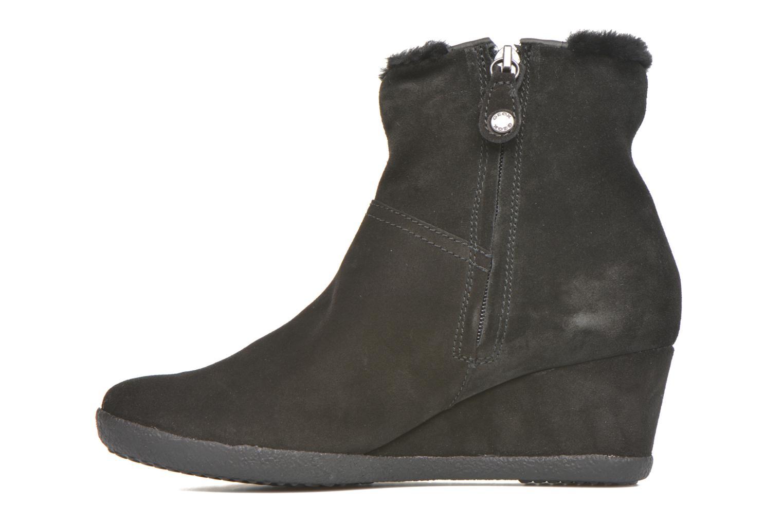 Bottines et boots Geox D AMELIA ST D D6479D Noir vue face