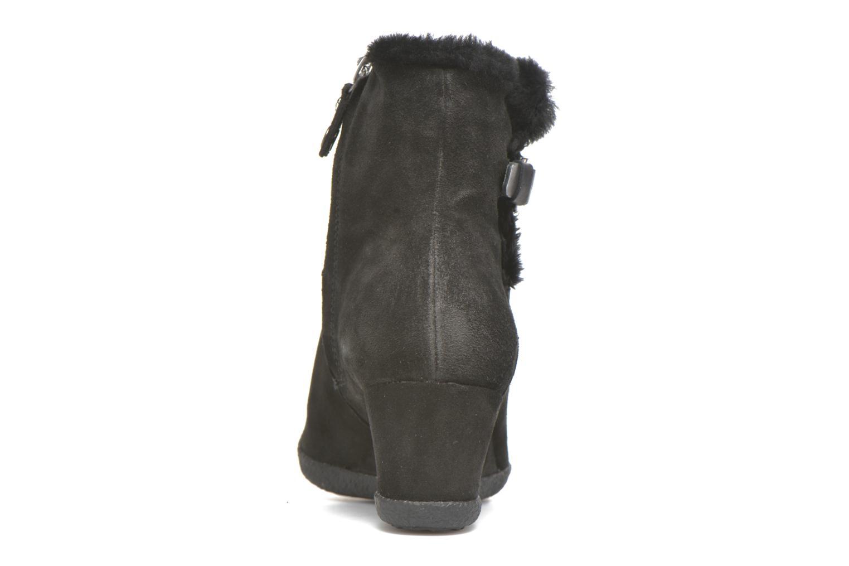 Bottines et boots Geox D AMELIA ST D D6479D Noir vue droite