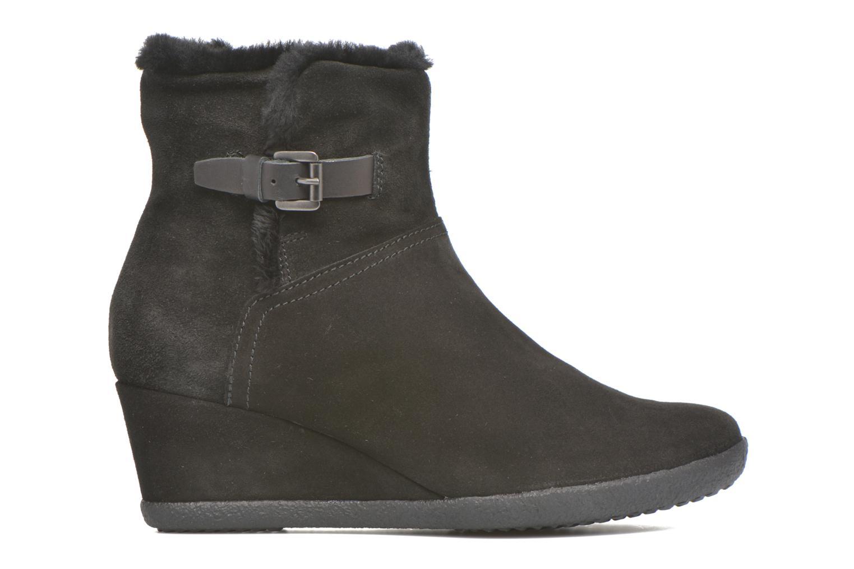 Bottines et boots Geox D AMELIA ST D D6479D Noir vue derrière