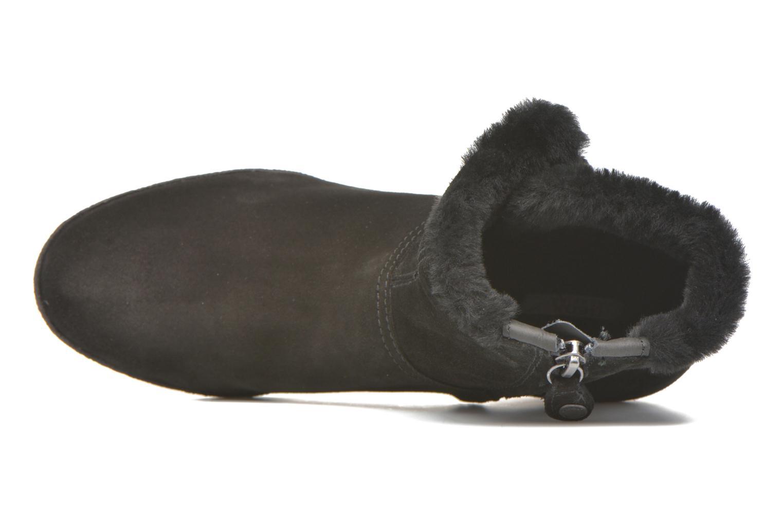 Bottines et boots Geox D AMELIA ST D D6479D Noir vue gauche