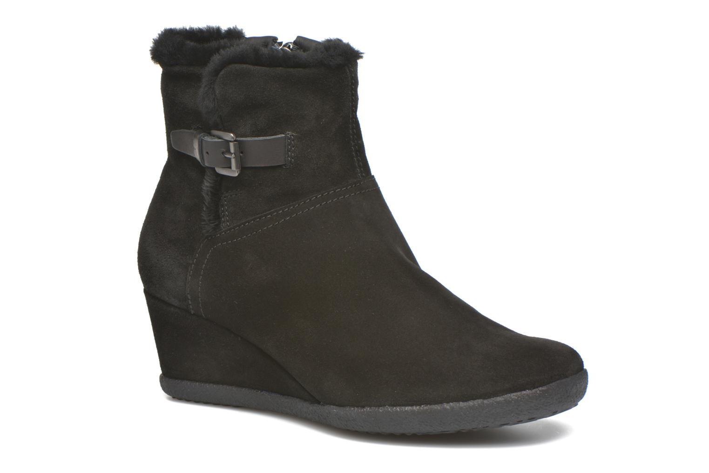 Bottines et boots Geox D AMELIA ST D D6479D Noir vue détail/paire