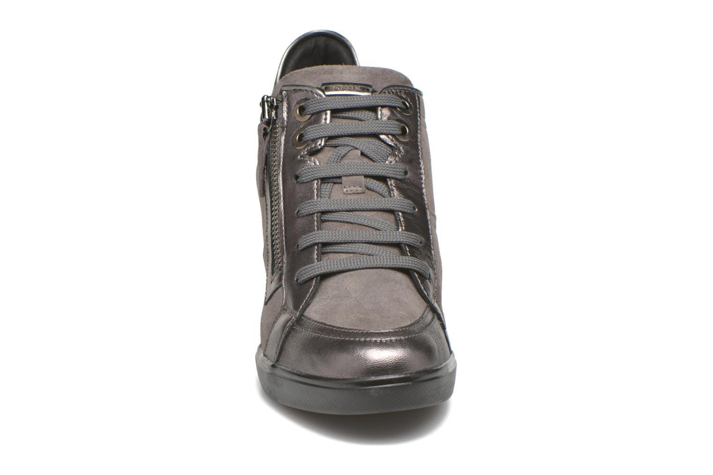 Sneaker Geox D ELENI D D6467D grau schuhe getragen