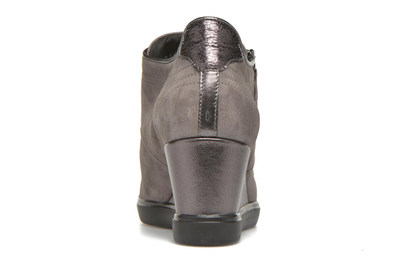 Sneaker Geox D ELENI D D6467D grau ansicht von rechts