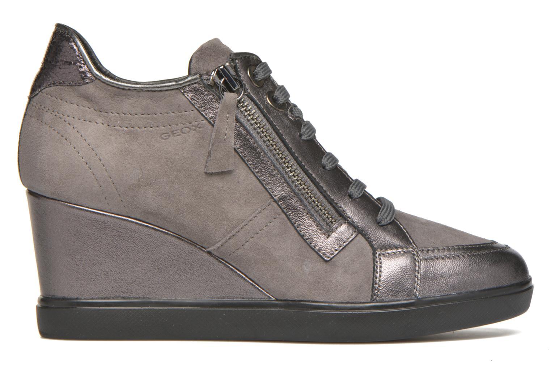 Sneaker Geox D ELENI D D6467D grau ansicht von hinten