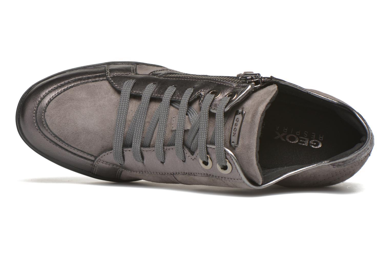 Sneaker Geox D ELENI D D6467D grau ansicht von links