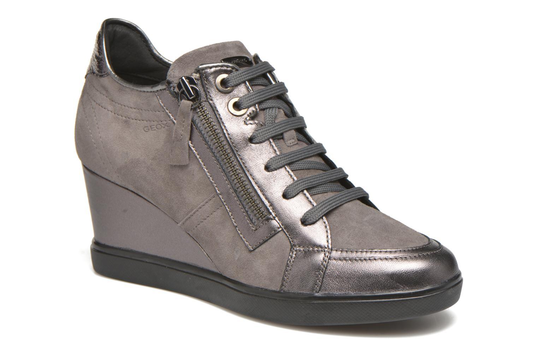 Sneaker Geox D ELENI D D6467D grau detaillierte ansicht/modell