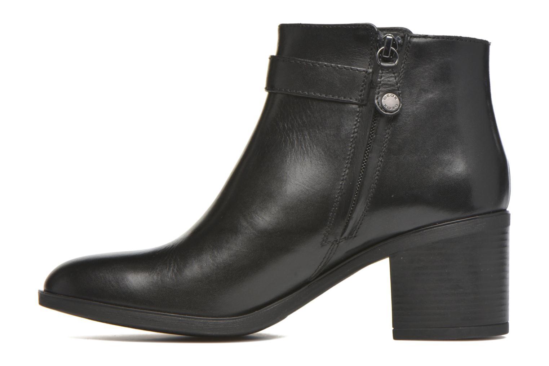 Bottines et boots Geox D GLYNNA B D643CB Noir vue face