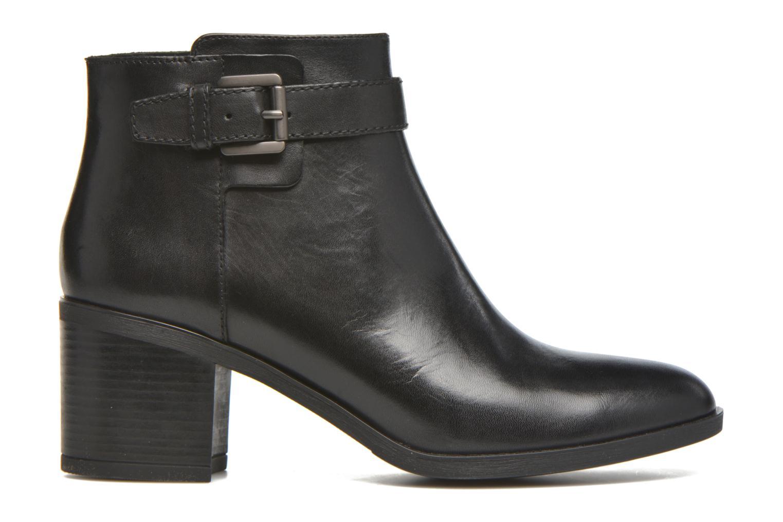 Bottines et boots Geox D GLYNNA B D643CB Noir vue derrière